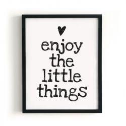 Poster | Genießen Sie die kleinen Dinge