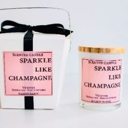 Bougie Candle Vetiver | Sparkle Like Champagne