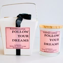 Geurkaars Candle Lavendel | Follow your Dreams
