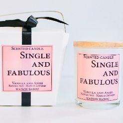 Bougie Candle Vanille & Anis | Single & Fabulous