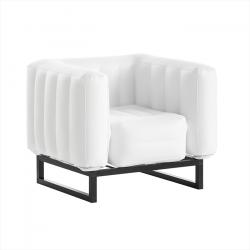 Sessel Yomi Aluminium | Weiß