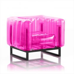 Sessel Yomi Aluminium | Rosa