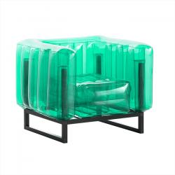 Sessel Yomi Aluminium | Grün