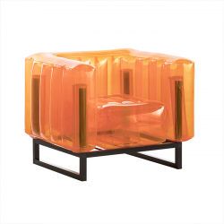 Sessel Yomi Aluminium | Orange