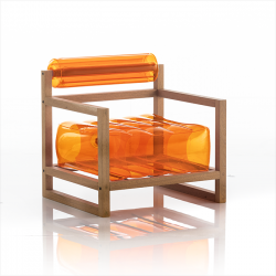 Sessel Yoko Wood | Orange