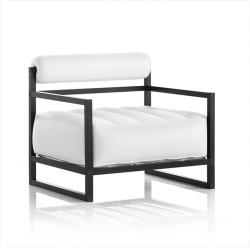 Sessel Yoko Aluminium | Weiß