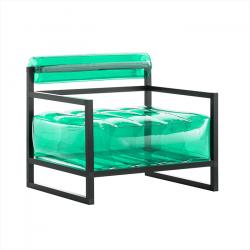 Sessel Yoko Aluminium | Grün