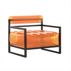 Sessel Yoko Aluminium | Orange