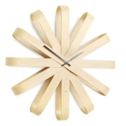 Horloge Murale Ribbonwood | Naturel