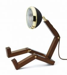 Table Lamp Mr. Wattson Lim. Edition | Brass & Black