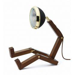 Table Lamp Mr. Wattson Lim. Edition | Brass & Black