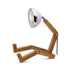 Table Lamp Mr. Wattson | Cemellia Pink