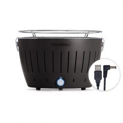 LotusGrill Portable BBQ & Grill Mini | Anthracite