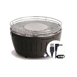 LotusGrill Portable BBQ & Grill XL | Anthracite