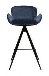 Bar Stool Gaia Velvet | Blue