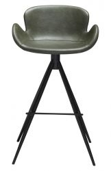 Bar Stool Gaia Vintage Artificial Leather | Green