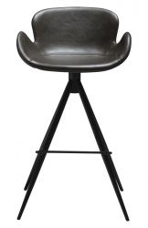 Bar Stool Gaia Vintage Artificial Leather | Grey