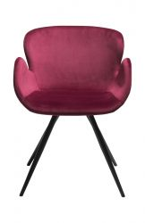 Chair Gaia Velvet | Ruby