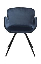 Chair Gaia Velvet | Blue