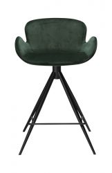 Counter Stool Gaia Velvet | Green