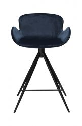 Counter Stool Gaia Velvet | Blue