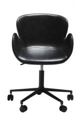 Office Chair Gaia | Art. Leather / Vintage Black