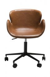 Office Chair Gaia | Art. Leather / Vintage Light Brown