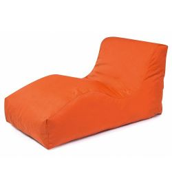 Garden Lounger Wave Plus | Orange