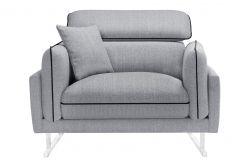 1-Seater Sofa Gigi | Dark Grey