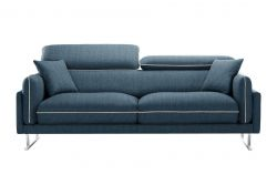 3-Seater Sofa Gigi | Petrol Blue / Cream