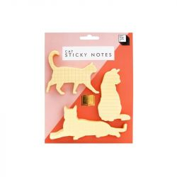 Pack of 3 Sticky Notes Cat