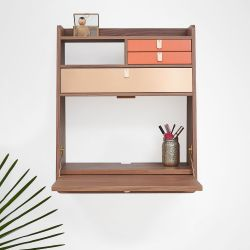 Wall Desk Gaston | Orange