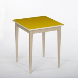 Bennie Table d'Appoint | Jaune