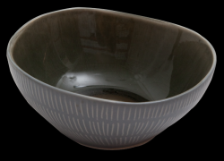 Bowl Prego Plain  | Grey