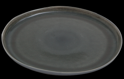 Assiette de Diner Prego Plain | Gris
