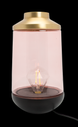 Table Lamp 22 cm Casablanca  | Rose & Gold