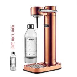 Hersteller von Sprudelwasser + Geschenk: 1 Aarke-Flasche | Kupfer