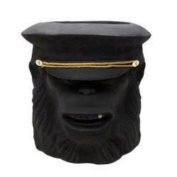 Monkey Face Pot Outdoor Big | Black
