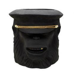 Monkey Face Pot Outdoor Big | Black