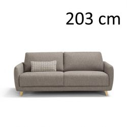 Sleeping Sofa Ghali L 203 cm | Grey