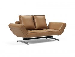 Daybed Ghia | Brown & Chrome Legs | Colli 2
