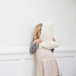 Sleepy Ghost Cushion