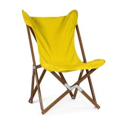 Tripolina Lounge Chair | Yellow