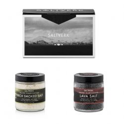 Gift Box #2 | Birch Smoked Salt & Lava Salt