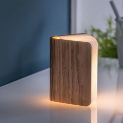 Smart Booklight Mini | Walnut