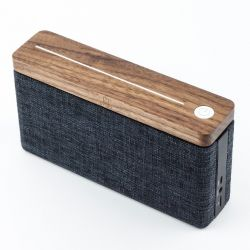 Bluetooth Speaker HiFi Square | Walnut Wood