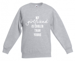 ♂ Sweater My Girlfriend | Grau