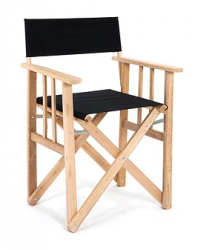 Director Chair | Black