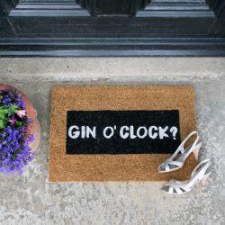 Glitzer-Fußmatte | Gin O'Clock