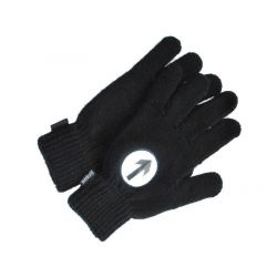 Reflective Biker Gloves | Black